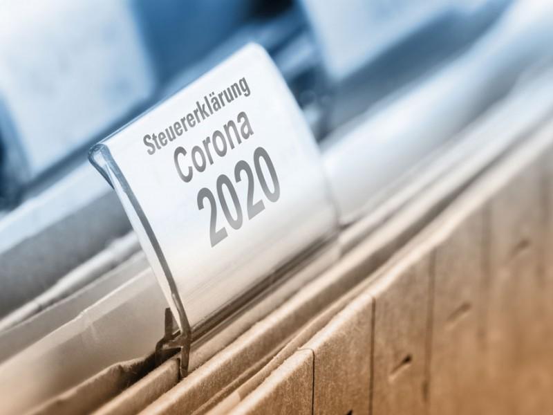 Steuererklärung für das Corona-Jahr 2020