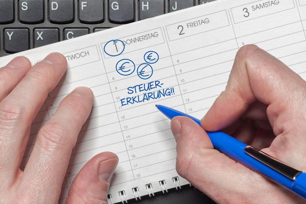 Steuererklärung 2019/2020: Wann Verspätungszuschlag fällig wird